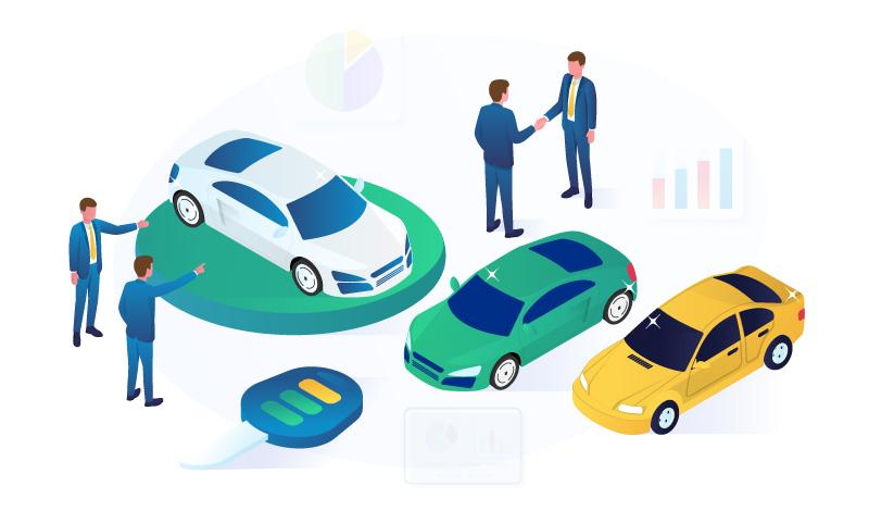 The Automotive Niche Illustration
