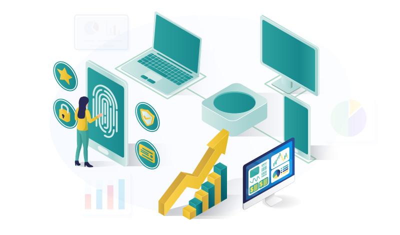 The Electronics Niche Illustration
