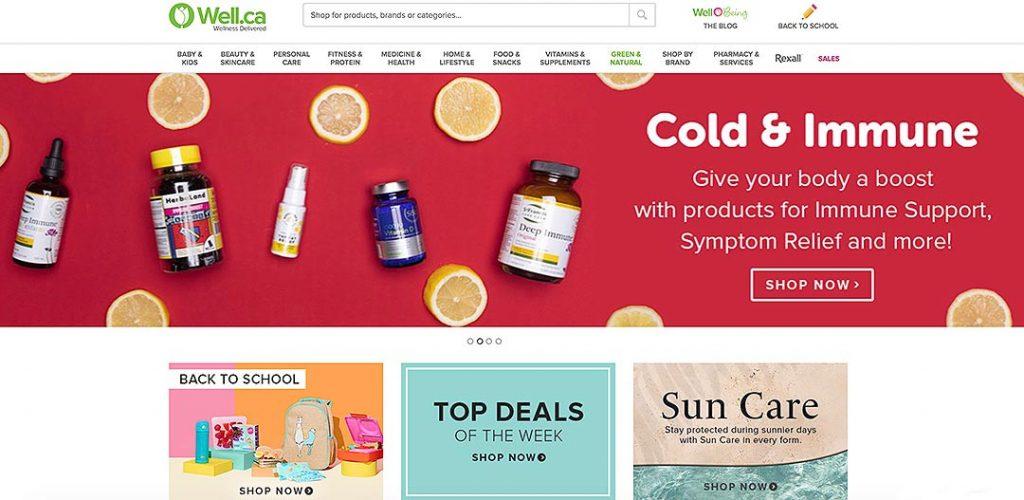 Wellca Homepage