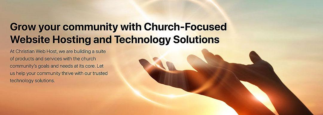 grow your community church website