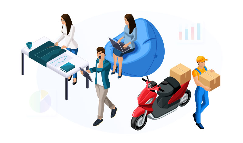 side hustle illustration