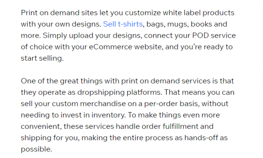 Introduction on how print on demand works