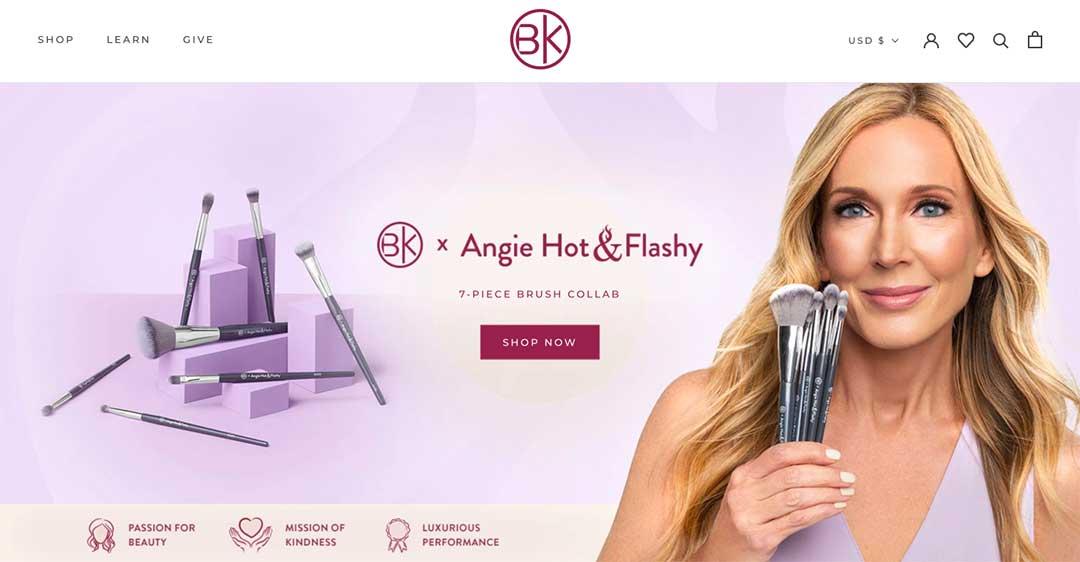 BK Makeup Homepage