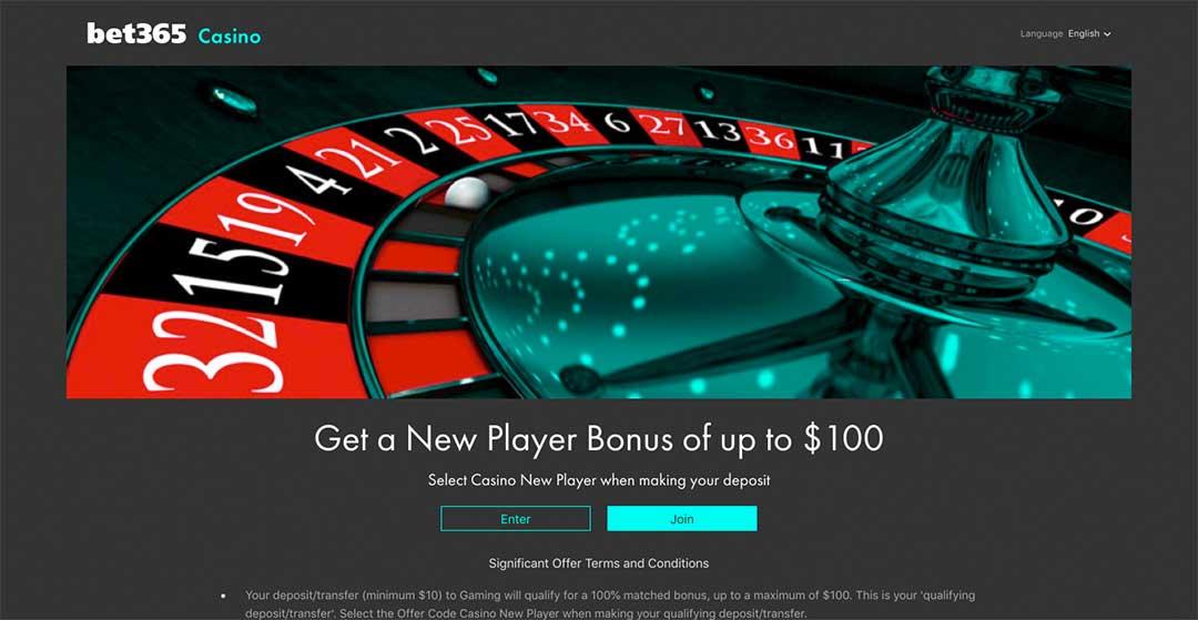 Bet365 Homepage