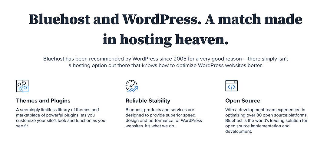 Bluehost wordpress guide