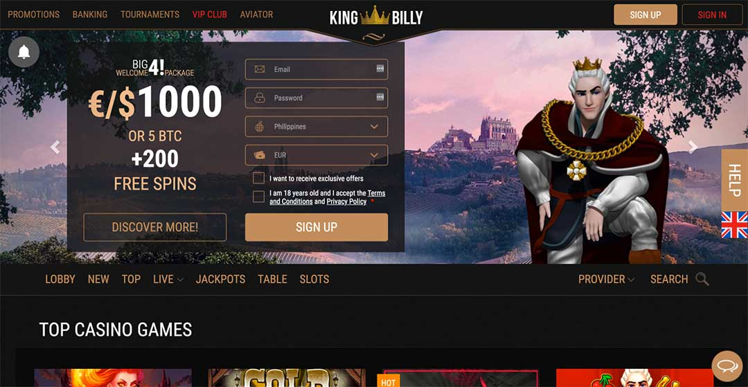 Kingbilly Homepage