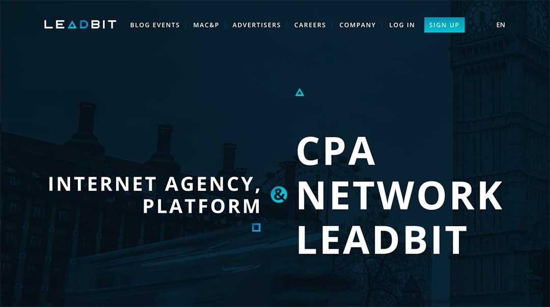 Leadbit Homepage