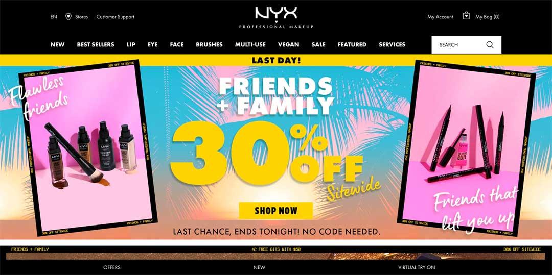 Nyx Homepage