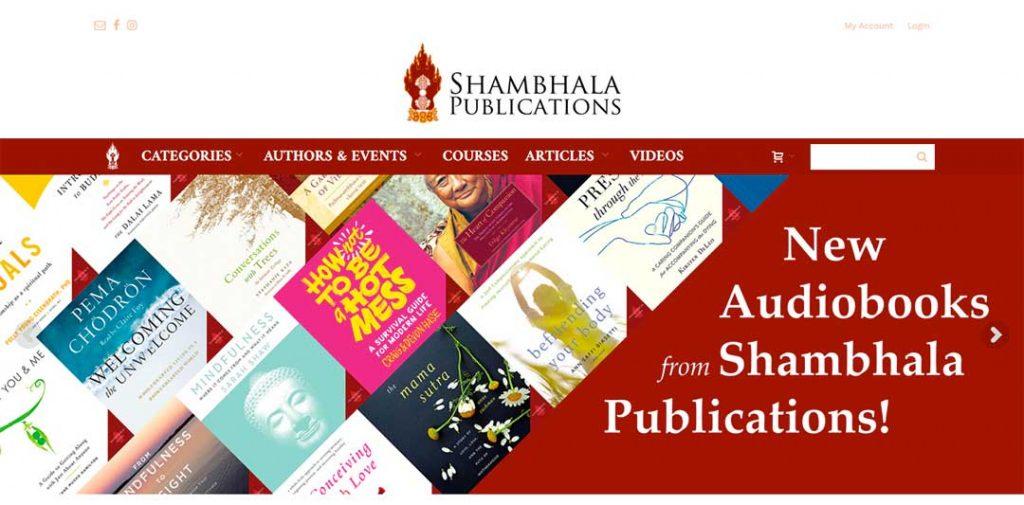 Shambhala Homepage