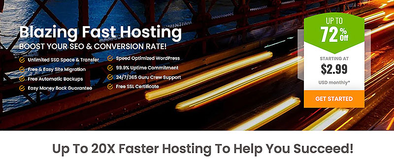a2 hosting main features