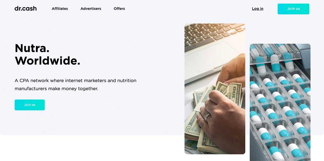 dr cash homepage