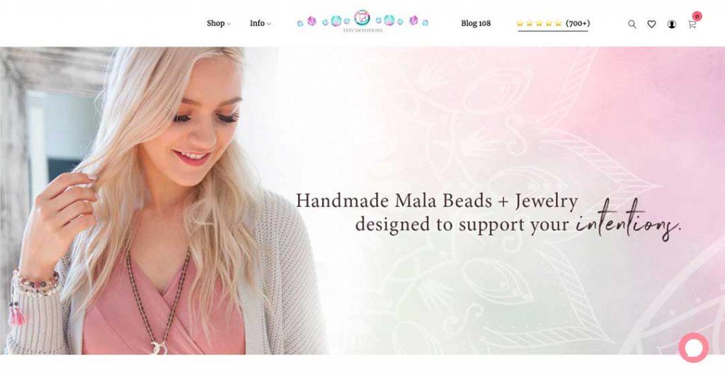 love tiny devotions homepage