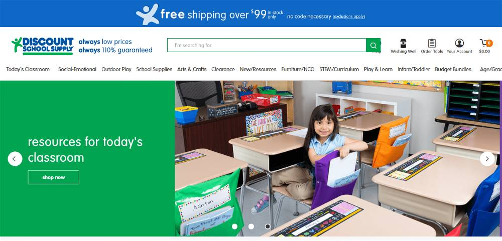 Discount School Supply Affiliate Program