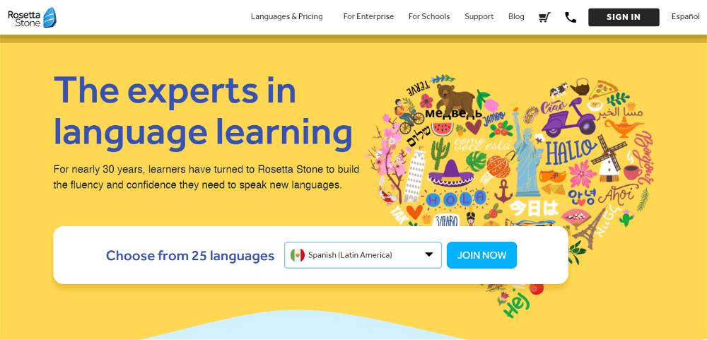 Rosetta Stone Affiliate Program